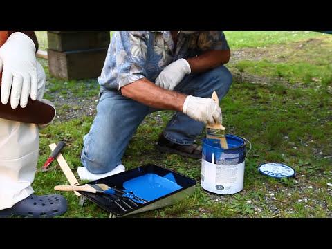 Boat Bottom Painting basics