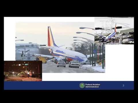 Airport Condition Reporting and the Runway Condition Assessment Matrix (RCAM) - Webinar