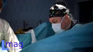Операция Вертгейма. Этап 1: Лимфаденэктомия с детекцией / Wertheim. 1) Lymphadenectomy + detection