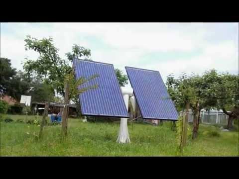 Solar Tracker Time Lapse