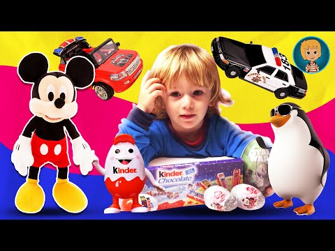 Star Wars Surprise Eggs | Disney Cars Toys - Mickey Mouse Clubhouse Egg Toy HD
