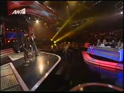 X Factor 2008-Live show 3-Nikolas Metaxas-Everything coming up roses