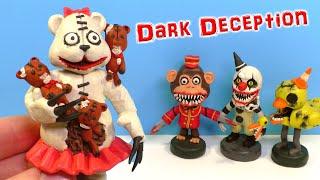Лепим МАМУ МЕДВЕДИЦУ из игры Dark Deception | ВИДЕО ЛЕПКА