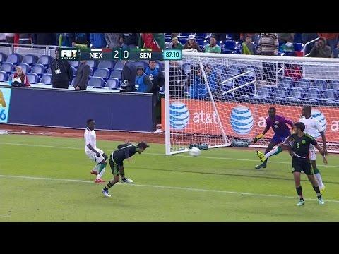 MEXICO VS SENEGAL 2 - 0 Amistoso 10 FEB 2016 Resumen