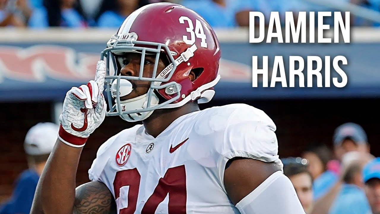 Damien Harris Alabama Career Highlights 2015 19 Youtube