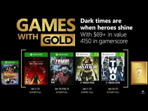 XBOX LIVE FREE GAMES WITH GOLD JAN 2018 ** Living In a Bubble News **