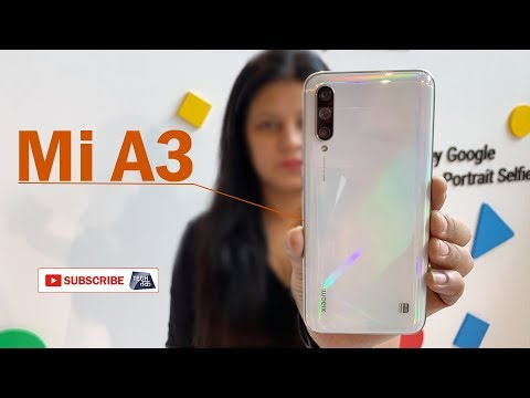 Mi A3 Smatphone:  ₹12,999/- में हुआ लांच ! | First Look | Tech Tak