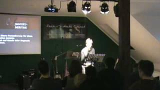 Amber Speaking @ Father's House Church - Stralsund