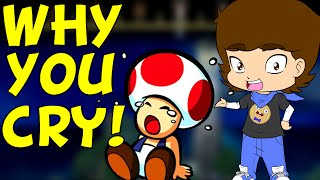 Why Video Games Make You CRY! - ConnerTheWaffle