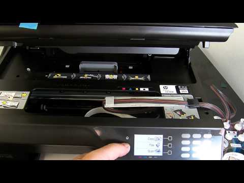 Ciss continuous ink system fits HP officejet 4610, 4620 ...