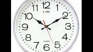 VASTU - Wall Clock should be placed as per vastu thumbnail