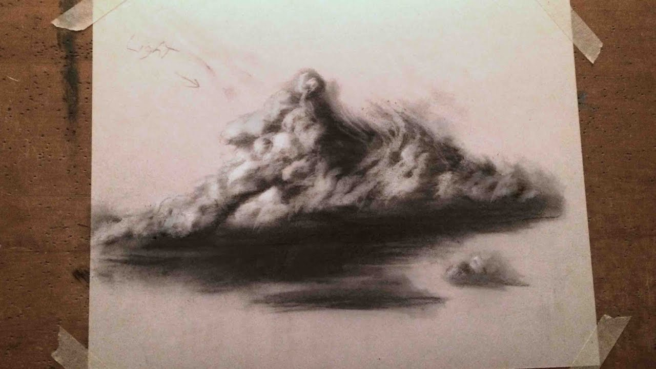Cloud Art Drawing