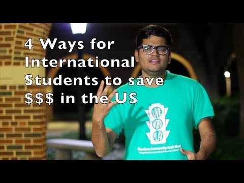 4 Ways to Save Money as International Students | That Indian Guy