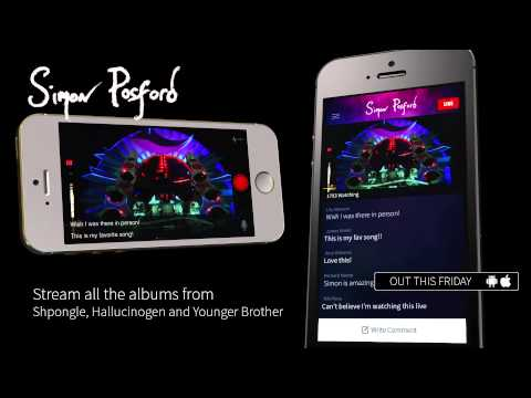 Simon Posford App - Out This Friday March 20th