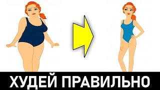 постер к видео 10 Научно Доказанных Правил, Как Похудеть Без Диет!