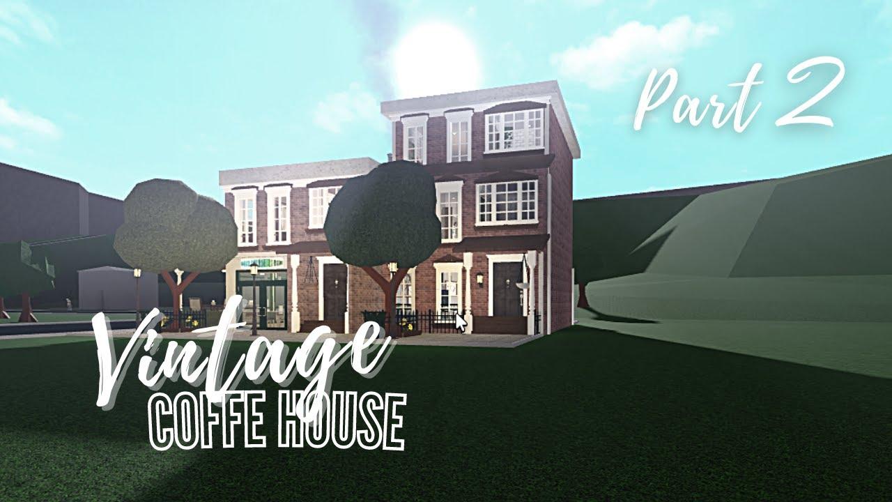 Download Bloxburg: Vintage Coffe house 2 (109k)