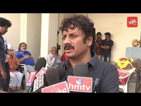 Actor Uttej Sivaji Raja Tribute to Rajiv...