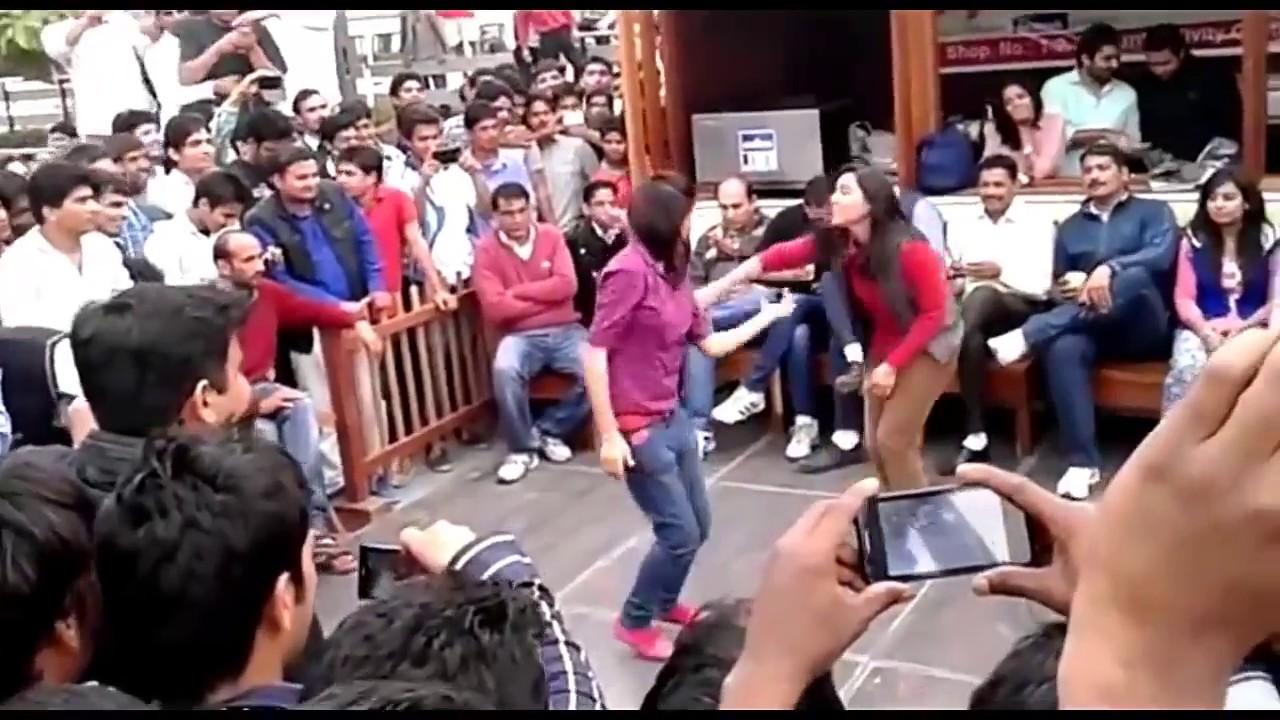 Haryana Rohtak Collage Girls Dance New Haryanavi Dance 2017