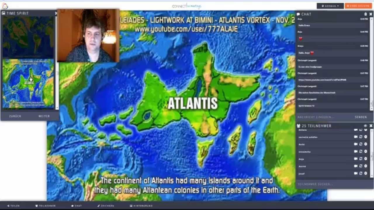 Time Spirit Atlantis Lage Karte Reale Ufo S Spirit Talk