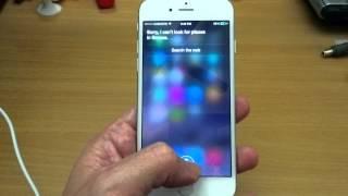 Iphone 6, Siri