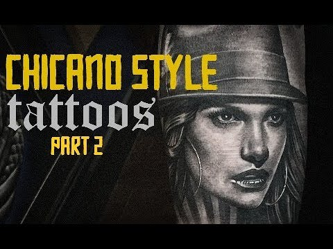 Chicano Style Tattoos - Part 2