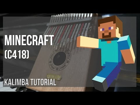 EASY Kalimba Tutorial: How to play Minecraft by C418