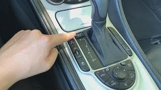R230 SL 55 AMG coole Features im Innenraum