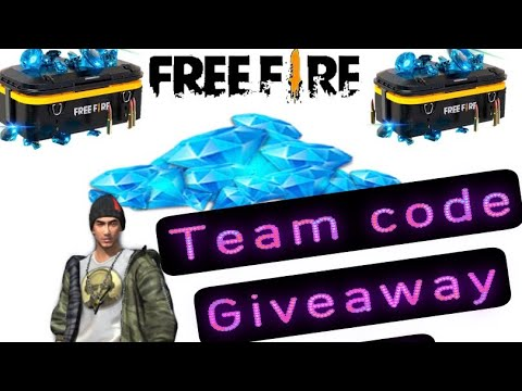 Download Free fire live team code giveaway free fire #totalgaming #Dnxgamer