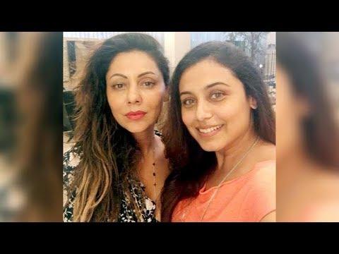 SRK's Wife Gauri Khan and Rani Mukerji Spotted BONDING Together