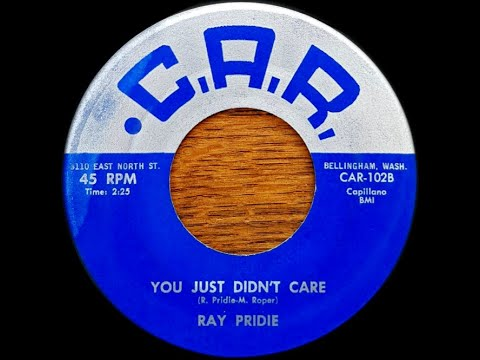 Ray Pridie - C.A.R 102 B  -  You Just Don