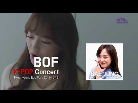 2019 BOF K-Pop Concert Package (Oct 19) (+ Busan Round-trip Transfer Option)
