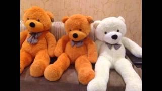 Мои игрушки #1 - плюшевые медведи(, 2014-04-17T06:24:53.000Z)