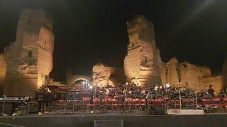 Ennio Morricone - concerto alle Terme di Caracalla , 2018