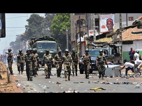 Violences électorales en Guinée : la guerre des chiffres - YouTube