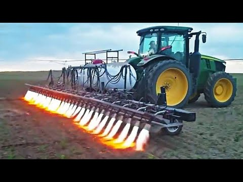 This is how agriculture is done in America. Incredible technology.