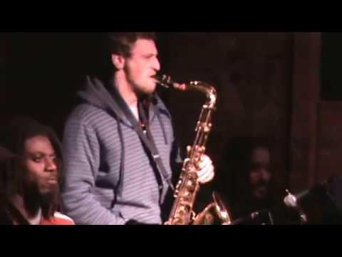 The Great Jesse Klirfeld Trumpet & Rich Bomzer Sax player with the VILLAGE UNDERGROUND BAND PART I