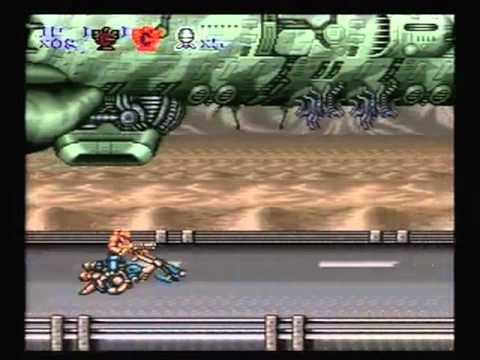 Contra III: The Alien Wars speedrun [14:42] hard difficulty no deaths