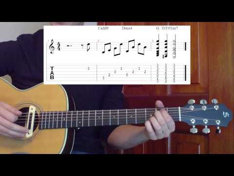 Big Bang Theory Theme Guitar Lesson
