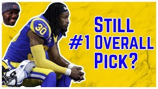Fantasy Football - Is Todd Gurley still the 2019 #1 Overall Pick?