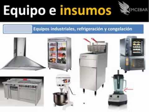 Equipo para restaurante guia paso a paso youtube for Mobiliario y equipo de cocina