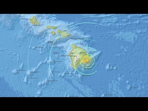 Major Earthquakes Near Volcano in Hawaii- LIVE BREAKING NEWS COVERAGE