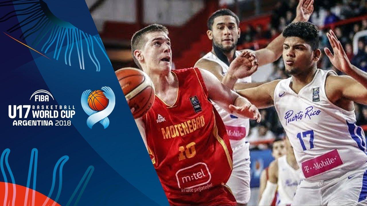 Puerto Rico v Montenegro - Highlights - Quarter-Finals