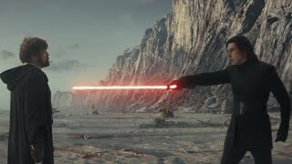 Star Wars: The Last Jedi (2017) Skywalker vs Kylo Ren