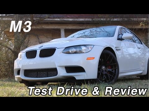 BMW M3 Competition Package Test Drive and Review 2012 model  // AutoAdrenaline