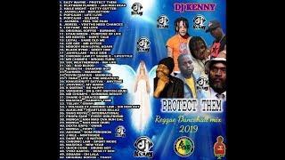 DJ KENNY PROTECT THEM REGGAE DANCEHALL MIX JAN 2019