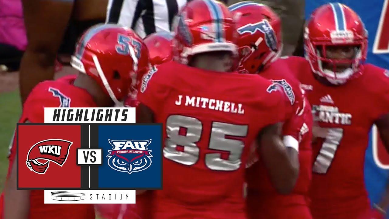 best sneakers 32261 e63b5 Western Kentucky vs. FAU Football Highlights (2018) | Stadium