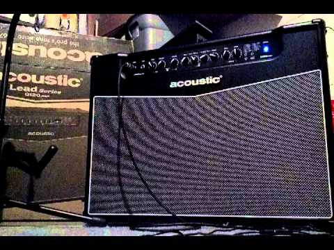 acoustic g120 dsp guitar amp review youtube. Black Bedroom Furniture Sets. Home Design Ideas
