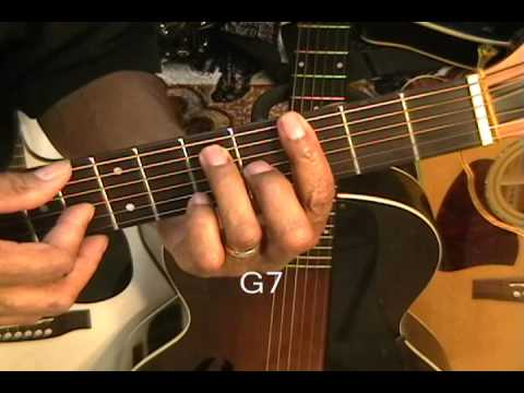 How To Play Bill Whithers AIN'T NO SUNSHINE On Guitar Lesson Tutorial
