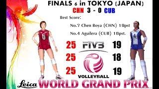 [Finals 6] China vs Cuba - Volleyball Women