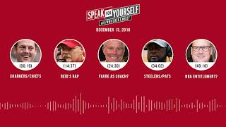 SPEAK FOR YOURSELF Audio Podcast (12.13.18)with Marcellus Wiley, Jason Whitlock | SPEAK FOR YOURSELF